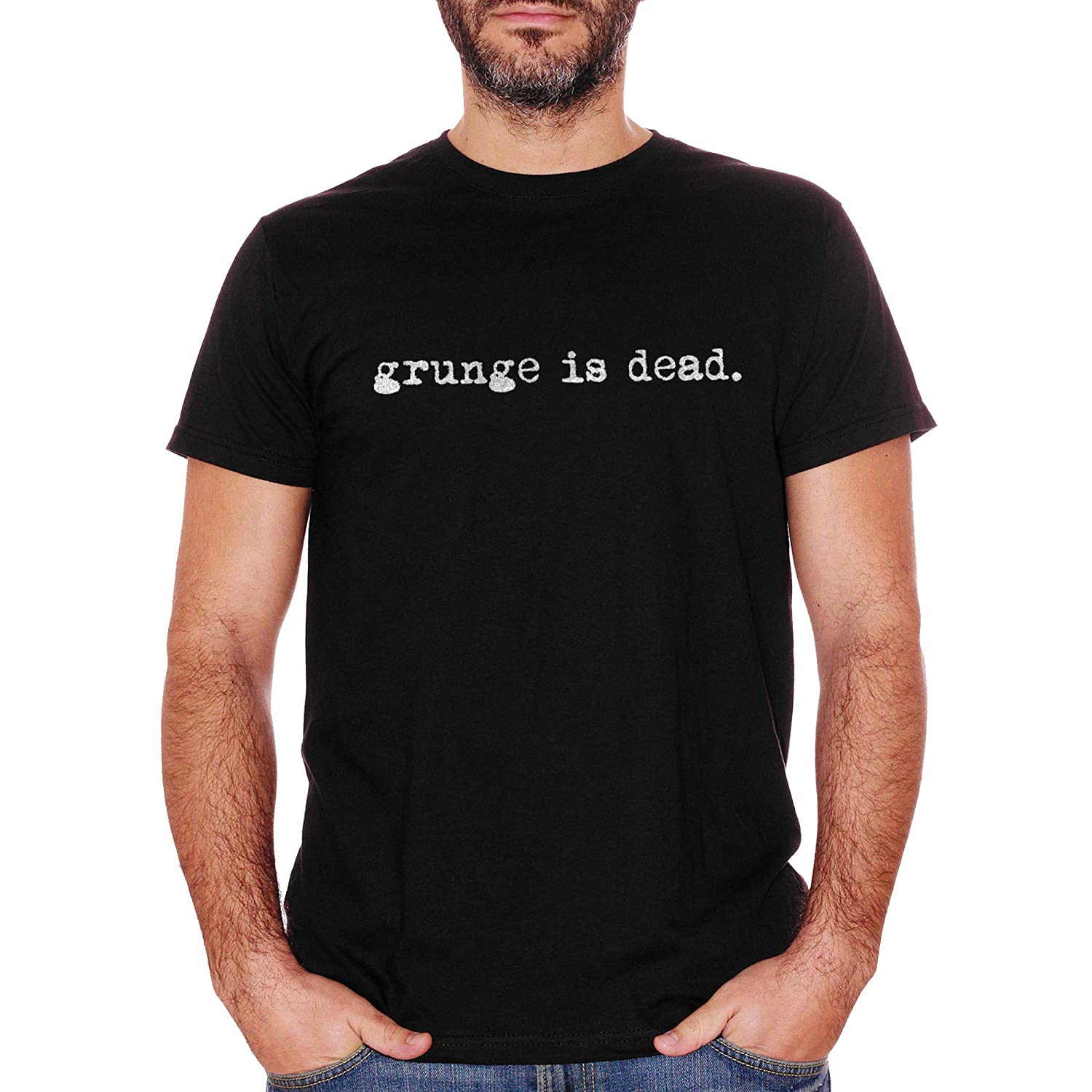 Music Choose ur Color T-Shirt Grunge Is Dead Music