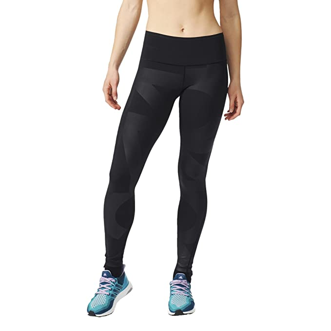 order online 50% off new arrival adidas Damen Leggings WO HR Long Typo