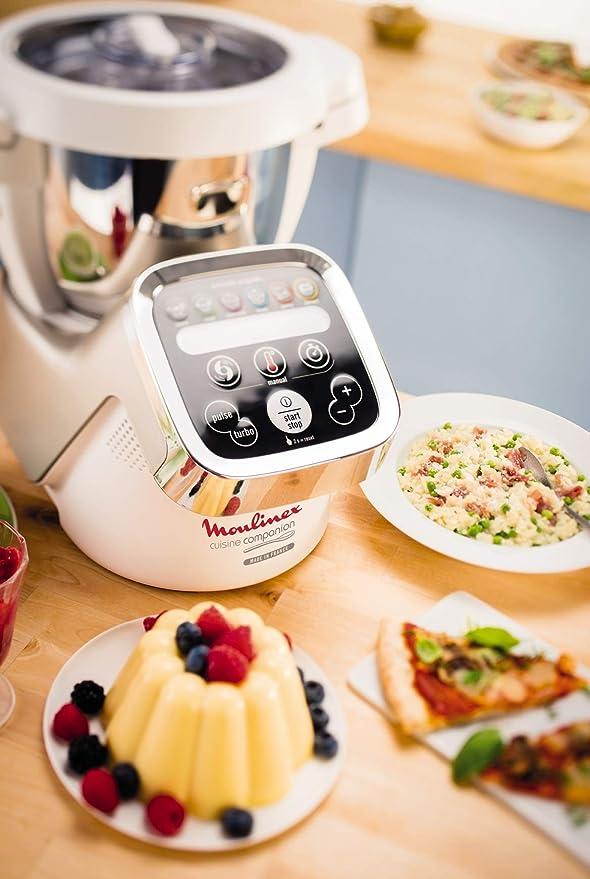 Moulinex HF 800 Cuisine Companion Robot Cocina, 1550 W, 4.5 l ...