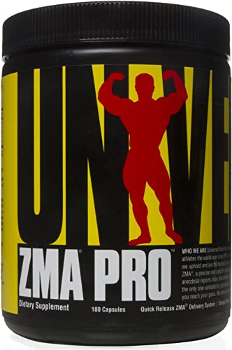 Universal Nutrition ZMA Pro Supplement – Zinc, Magnesium, Vitamin B6 – Nighttime Recovery Aid for Better Sleep
