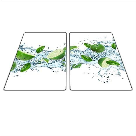 Universal Set de dos tablas para proteger: de Cristal de estufa, cerámica, inducción