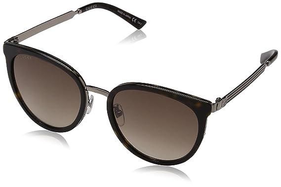 23328df00ba Amazon.com  Gucci - GG0077SK-003 Sunglass ACETATE  Clothing