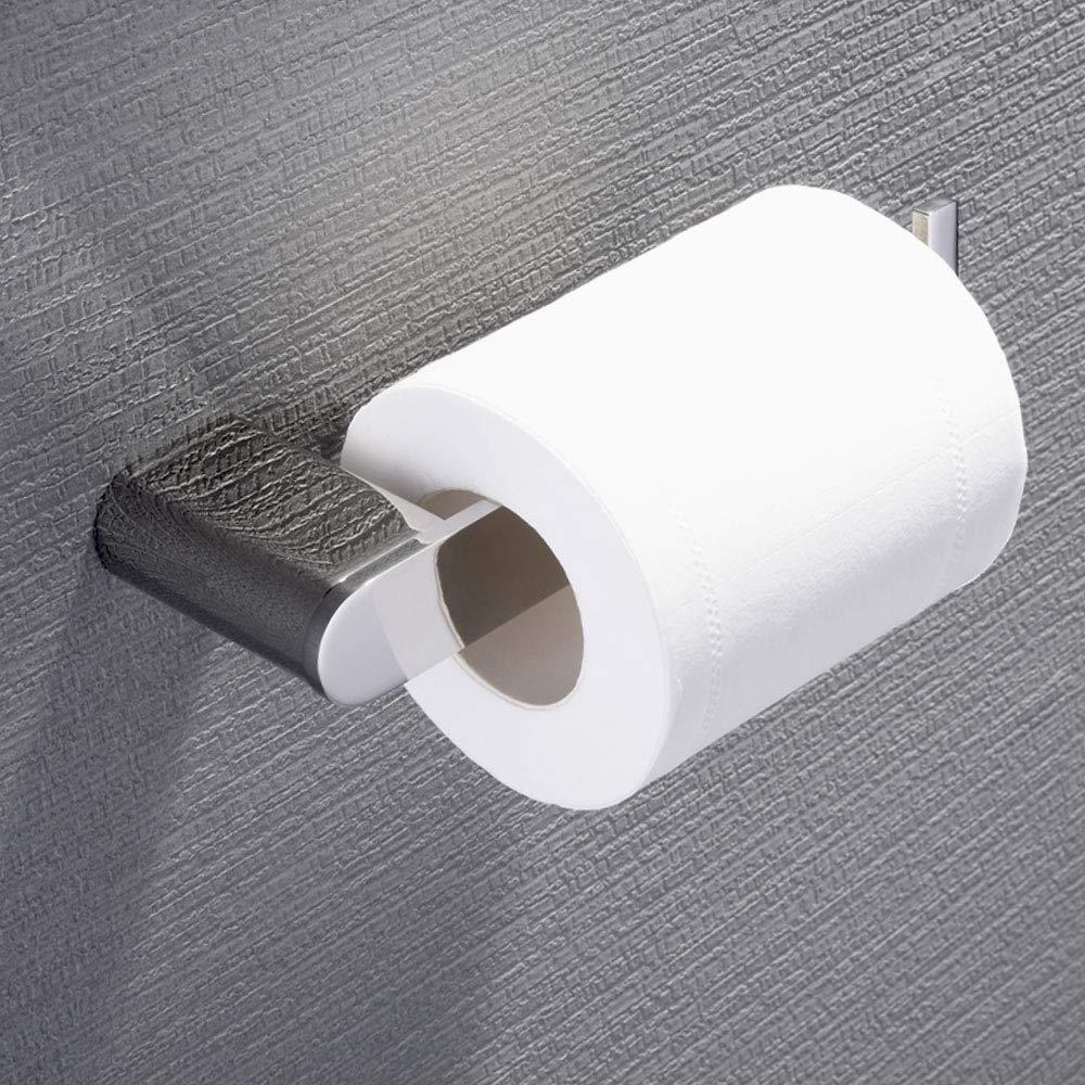 Support pour Rouleau de Papier Toilette, OIZEN Porte-Papier en Acier Inoxydable Salle de Bain Support de Rouleau de Serviette Toilette