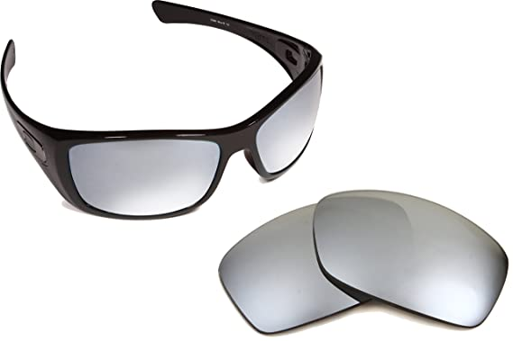 d4abd0af4d Image Unavailable. Image not available for. Colour  Best SEEK Polarized  Replacement Lenses for Oakley HIJINX Silver Mirror