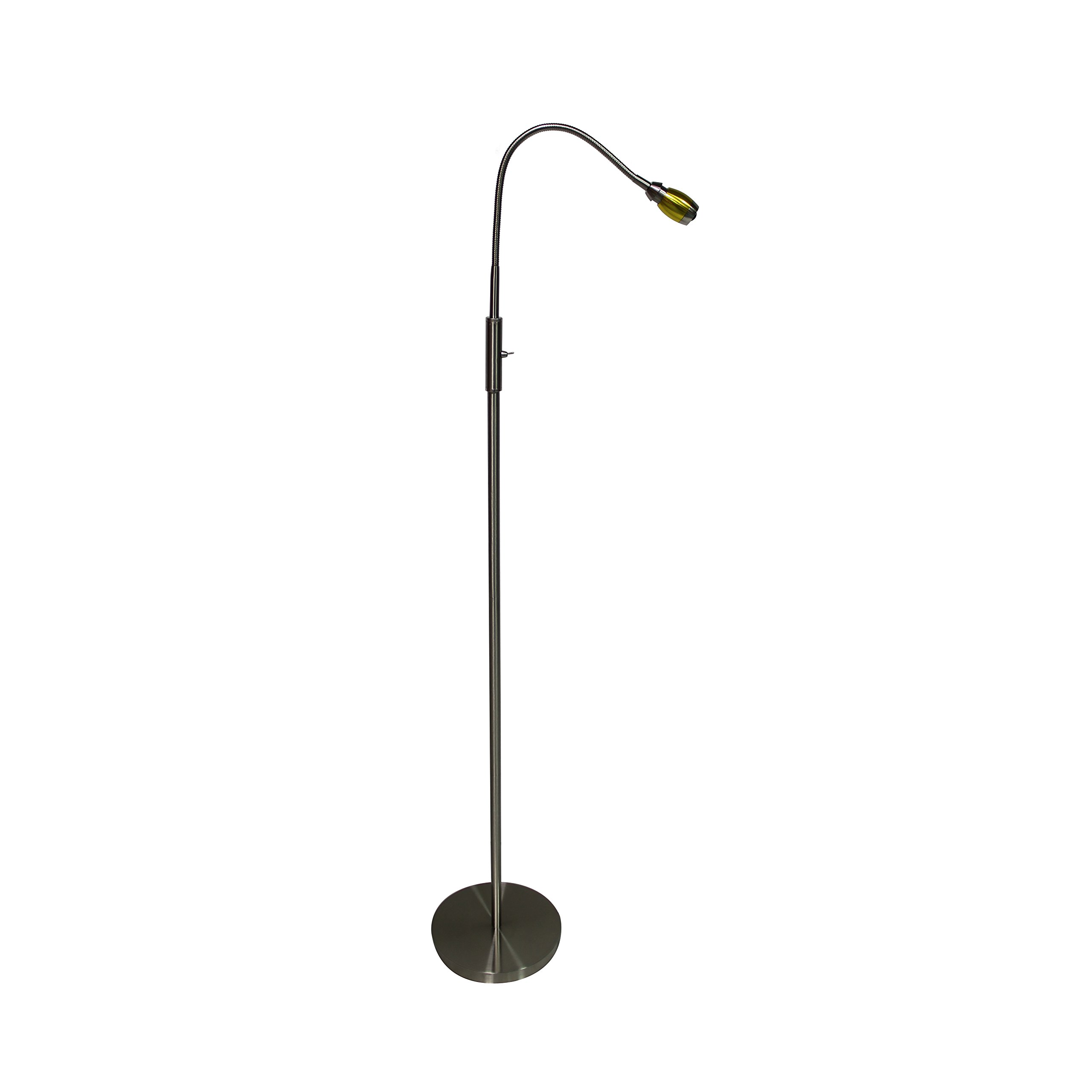 daylight24 402071-39 FOCUS Adjustable Beam LED Floor Lamp, Gold by daylight24