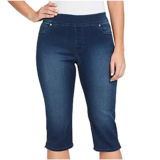 d478c56028f Gloria Vanderbilt Ladies  Avery Skimmer with Embroidery Detail for Women at  Amazon Women s Jeans store