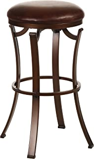 Hillsdale Kelford Backless Swivel Counter Stool Antique Bronze  sc 1 st  Amazon.com & Amazon.com: Hillsdale Montello Backless Swivel Counter Stool Old ... islam-shia.org