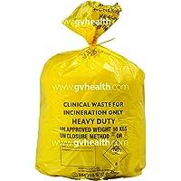 Grande Amarillo Heavy Duty clínica–Bolsas de basura (100bolsas