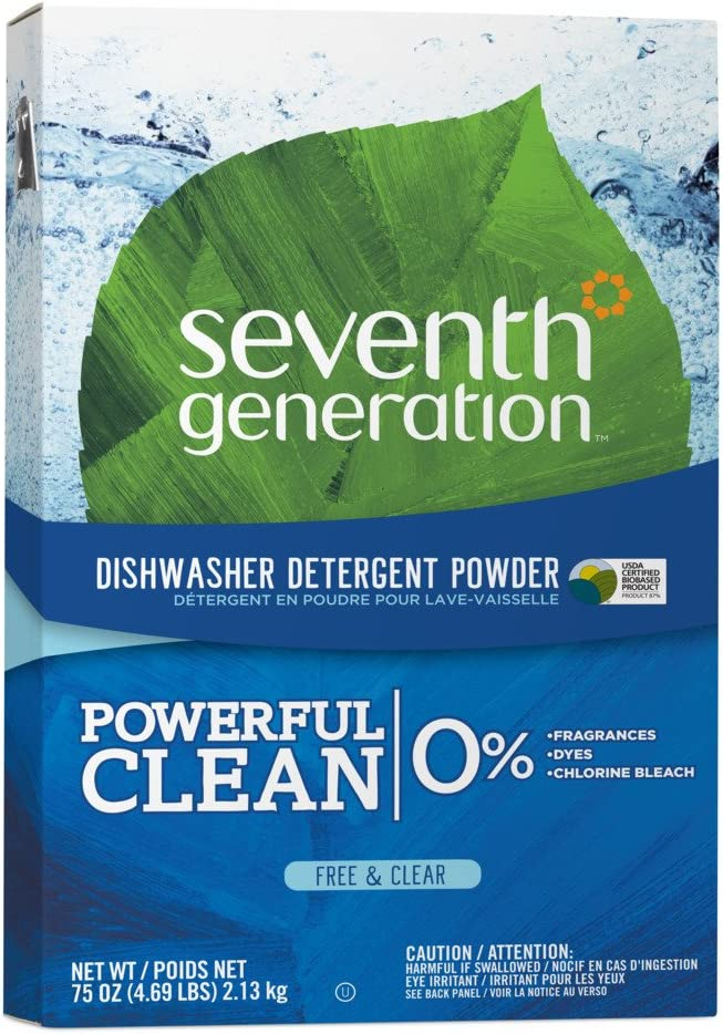 SEV22151 - Free amp; Clear Automatic Dishwasher Powder, 75oz Box
