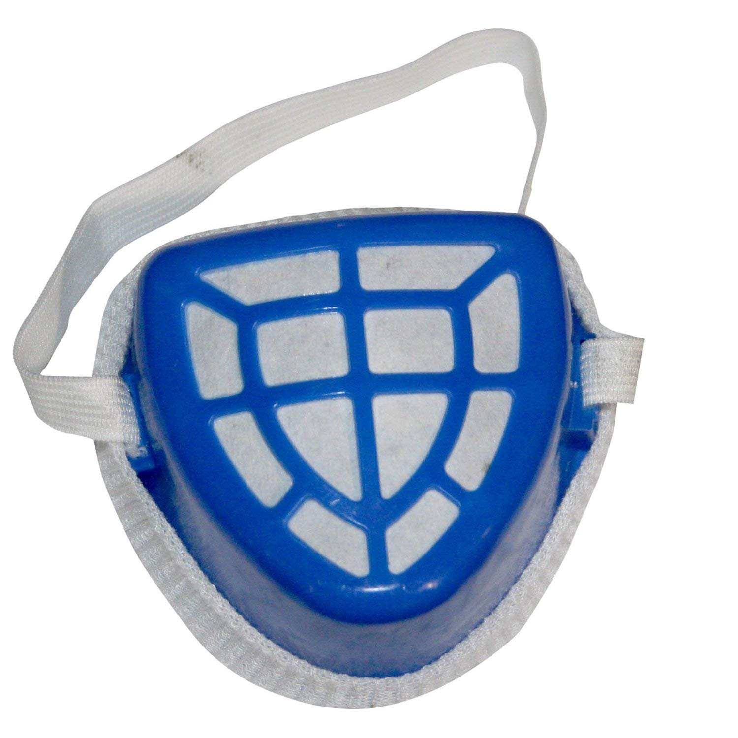 Half Face Adjustable V Shaped Mask and Filter for Safety Protection Against Dust, Pollution