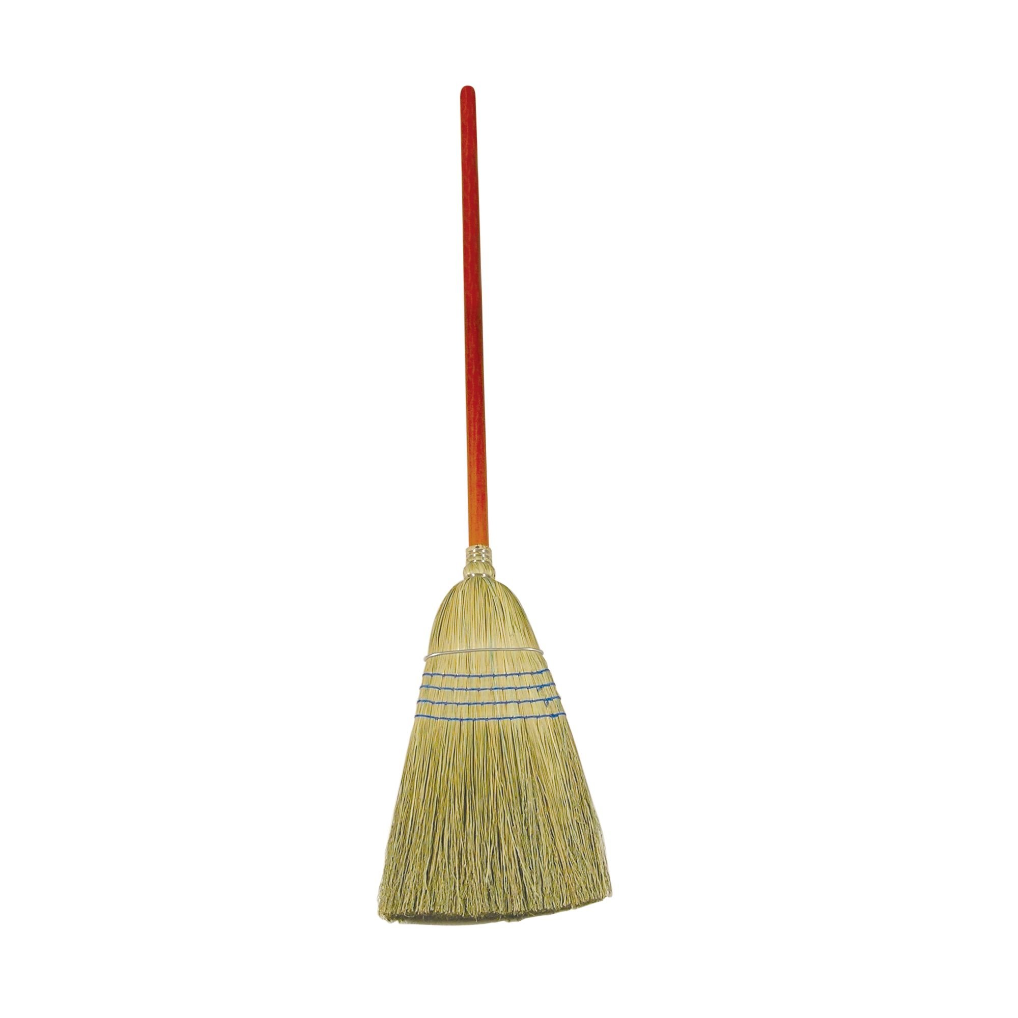 Rubbermaid Commercial Products FG638300BLUE Corn Fiber Warehouse Broom, Blue (Pack of 12)