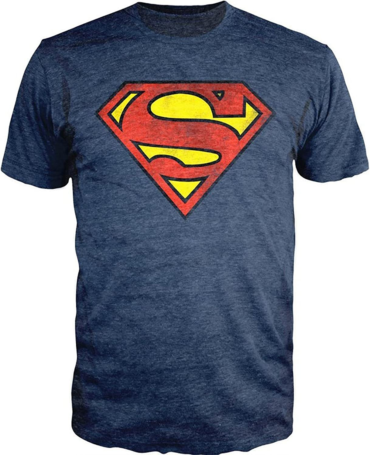DC Comics Superman Logo T-Shirt Officially Licensed