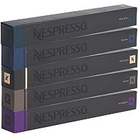 Nespresso Capsules Intenso Mix 10x Ristretto 10x Arpeggio 10x Kazaar 10x Dharkan 10x Roma 50 capsules