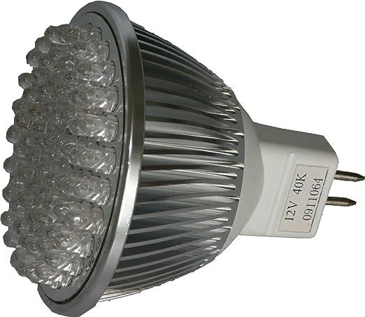 LED MR16 foco 12 V 4,5 W (330 lumens - 45 Watt memorias) 45 ...