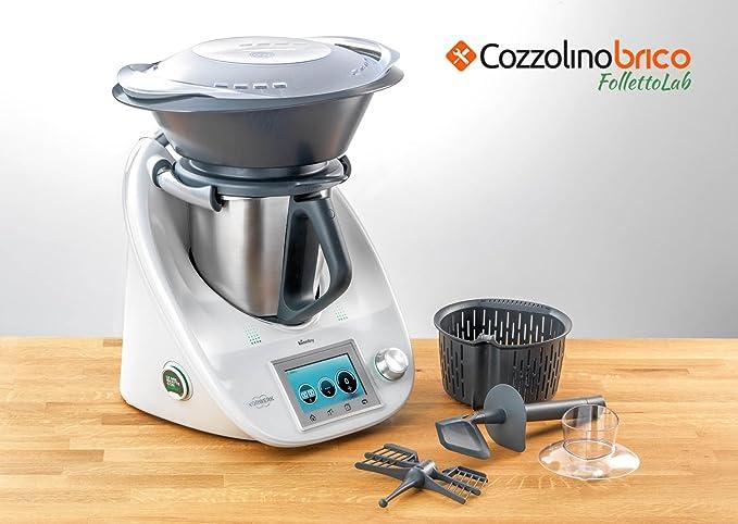 Robot de cocina Thermomix TM5 6 Meses de Garantía perfettamente revisionato Come Todo Nuevo Original Con Varoma: Amazon.es: Hogar
