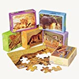 Wild Animal Puzzles (pack of 12)