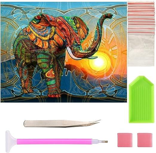Full Drill DIY 5D Diamond Painting Embroidery Cross Stitch Kits Home Decor Tool