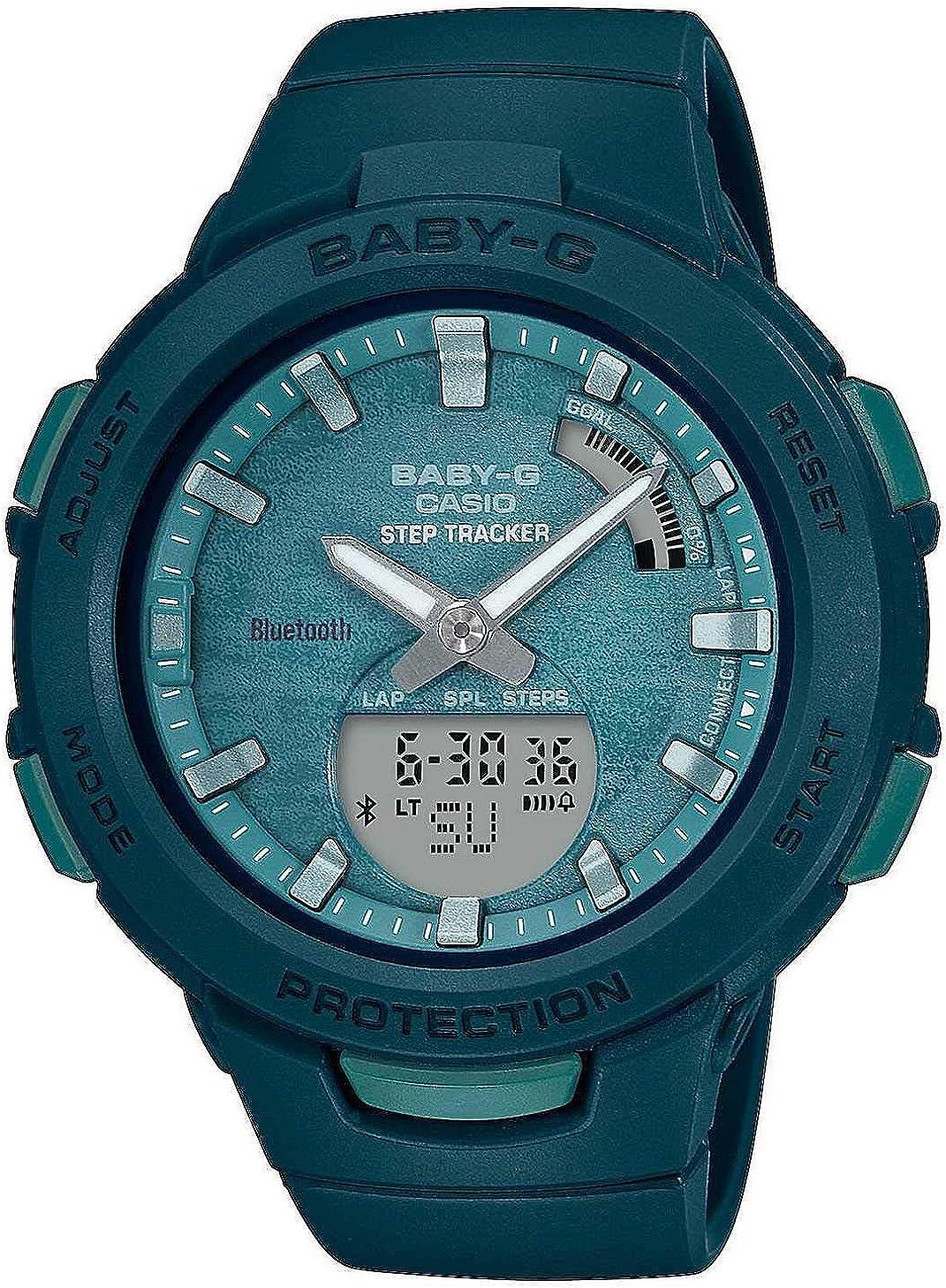 Casio Reloj Inteligente BSA-B100AC-3AER: Amazon.es: Relojes