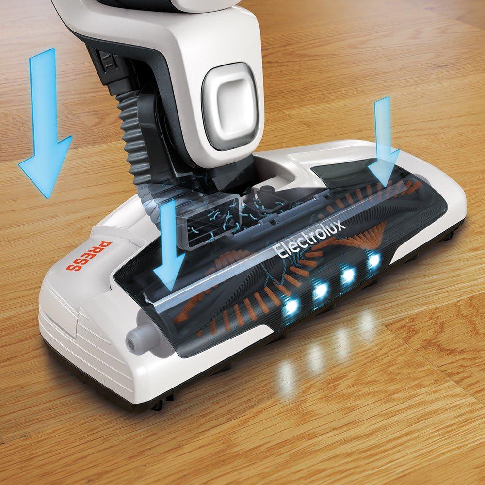 Electrolux ZB3230P - Aspiradora Escoba Especial Mascotas, Color Blanco [Clase de eficiencia energética A]: Amazon.es: Hogar