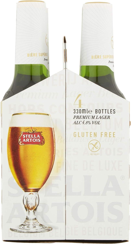 Stella Artois Gluten Free Lager 4 X 330ml Amazon Co Uk Grocery