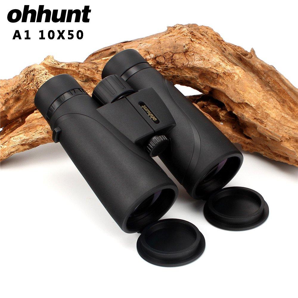 ohhunt A1 10X50 双眼鏡 望遠鏡 防水 防曇 耐衝撃 キャンプ/ハンティング/旅行/スポーツイベント/観戦/野鳥観察やライブ 狩猟 B076JBTR52