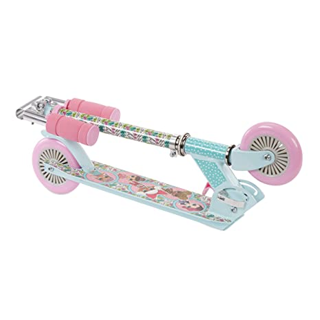 LOL Surprise! Folding Kick Scooter - Pink/Blue