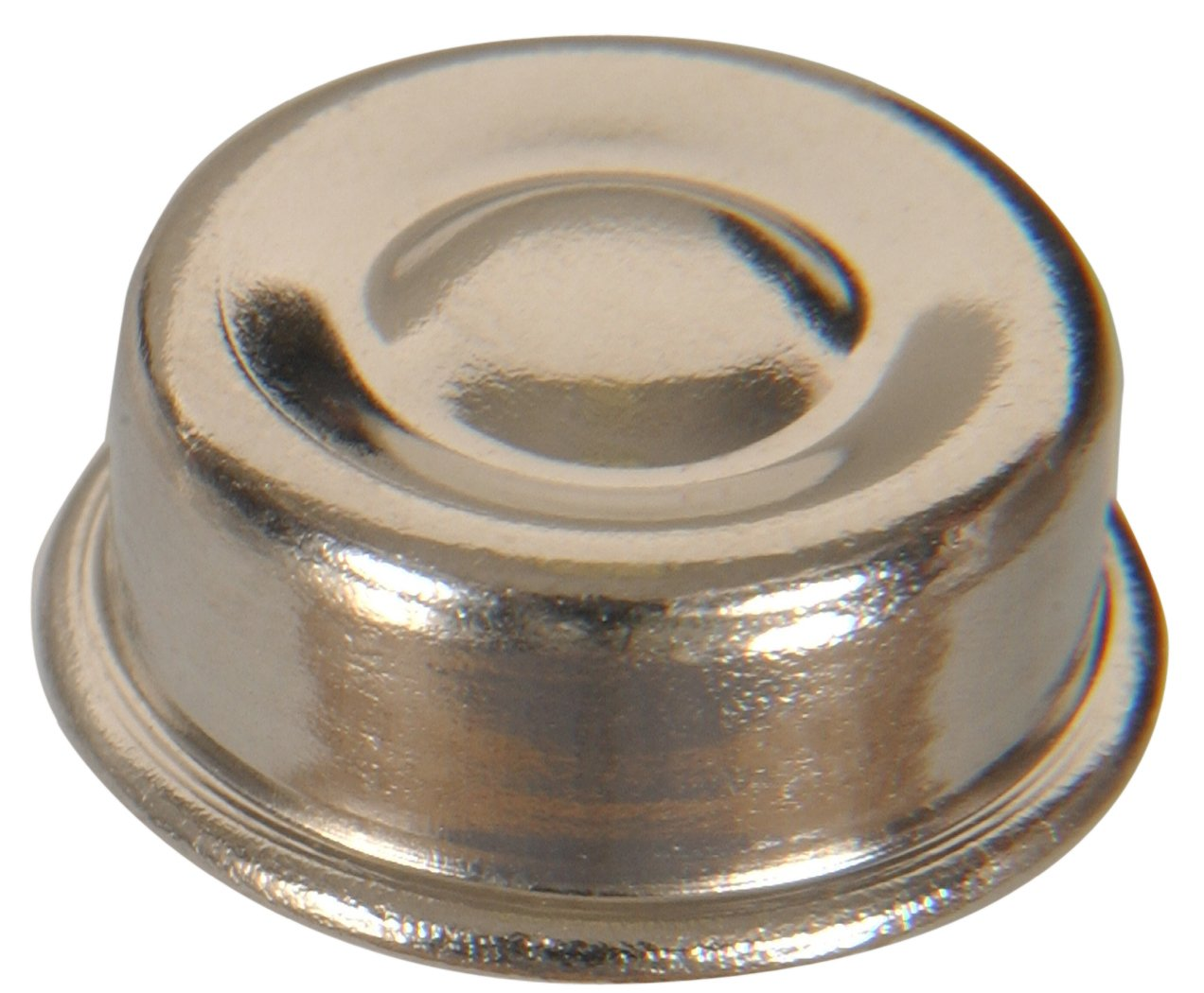 The Hillman Group 59409 Nickel Push Nut, 1/2-Inch, 20-Pack by The Hillman Group