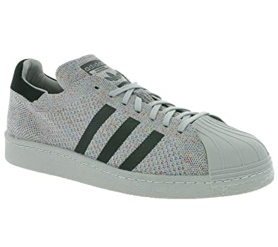 64a2e9b533d adidas Superstar 80 S Primeknit Trainers Grey 11 UK  Amazon.co.uk ...