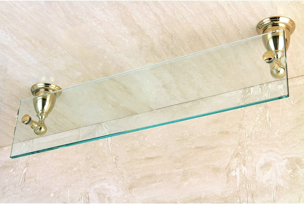 Oil Rubbed Bronze Kingston Brass BA1759ORB Heritage Glass Shelf