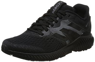 f02be0da14 adidas Aerobounce, Chaussures de Running Femme, Noir Core Black/Grey Four 0,
