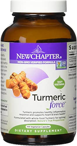 New Chapter Turmeric Force, 144 Count