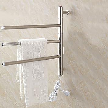 ZHFC Handtuchhalter Elektrisch Handtuchhalter Badezimmer ...