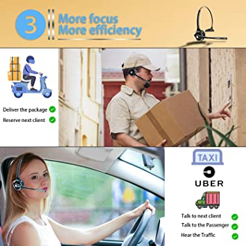 Amazon.com: Friencity - Auriculares con Bluetooth 5.0 con ...