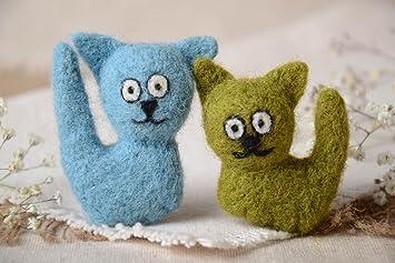 Imanes de nevera artesanales de lana para decorar la casa regalos ...