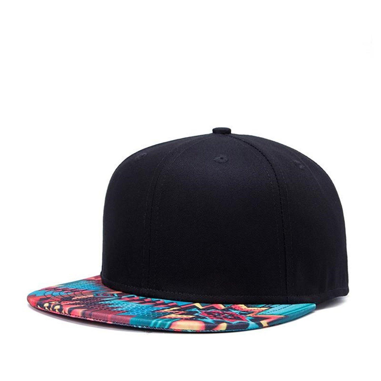 Amazon.com: Hats For Men Women Snapback Gorras Hat Hip Hop Black Snapback Caps Casquette Brim Straight Bone Male Female: Health & Personal Care