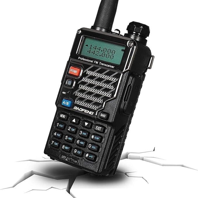 Baofeng UV-5R Plus VHF UHF Dual Band A//B TOT VOX FM Transceiver Two way Radio US