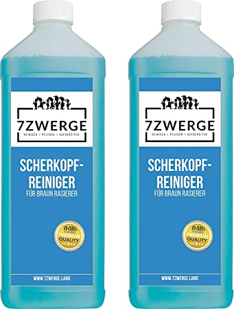 Limpiador líquido de cabezal de máquina de afeitar de 7Zwerge para ...