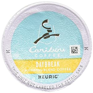 Caribou Coffee, Daybreak Morning Blend, K-Cup Portion Pack for Keurig K-Cup Brewers (Pack of 48)