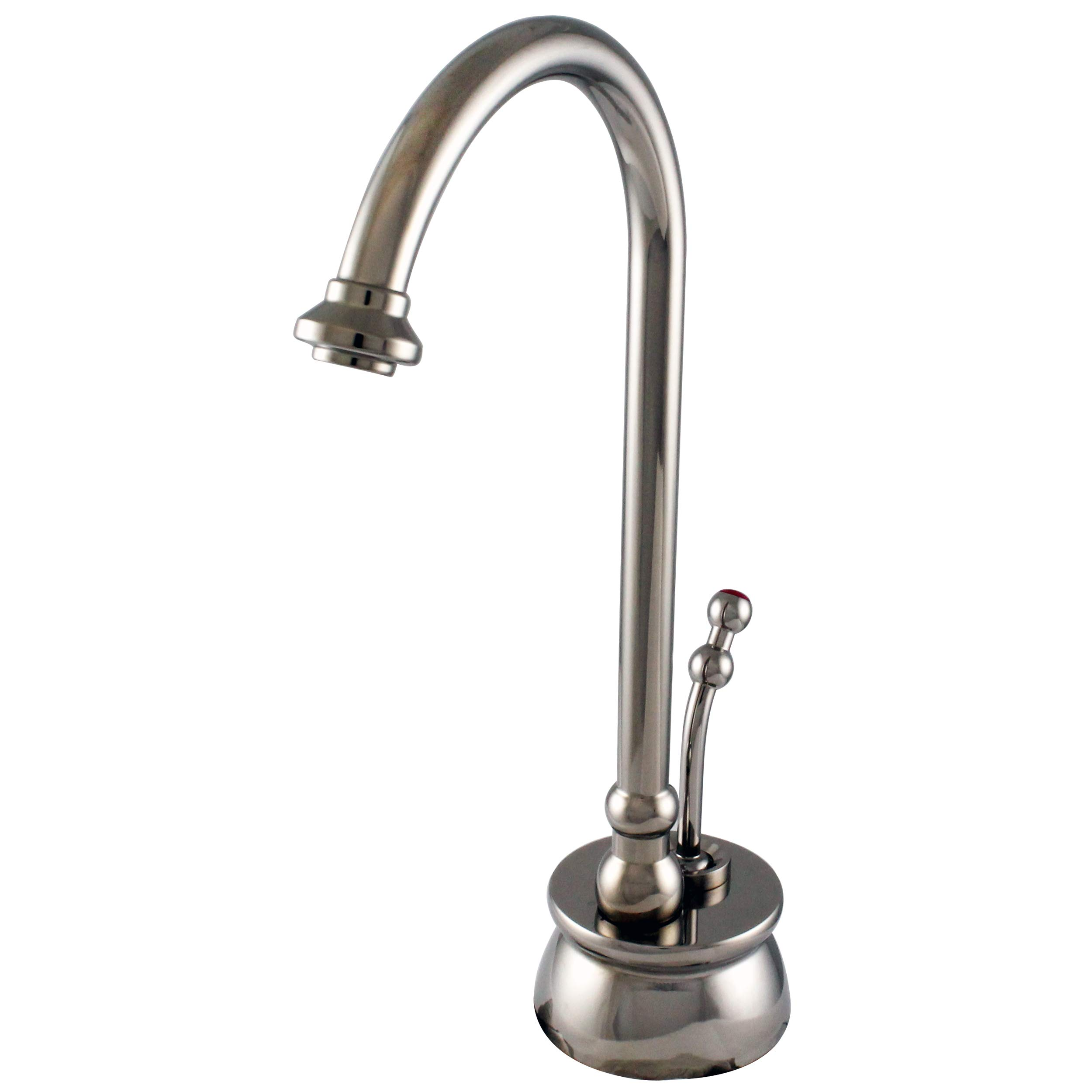 Westbrass D261-NL-05 Lead-Free Calorah Single-Handle Hot Water Dispenser Faucet in Polished Nickel by Westbrass