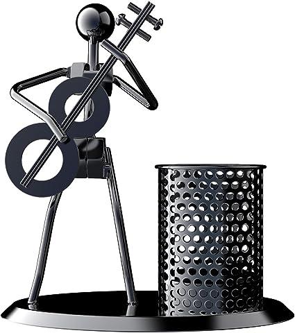 Organizer per ufficio Black nero set di 3 5 Pcs Desktop Organizer porta penne nero traslucido accessori per la casa 2 tazze da 16 scomparti scuola