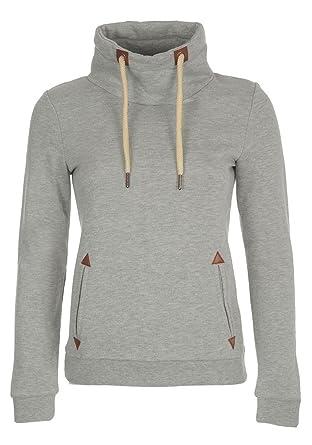 DESIRES Liki Tube Damen Sweatshirt Pullover Sweater Mit Stehkragen Und Fleece-Innenseite