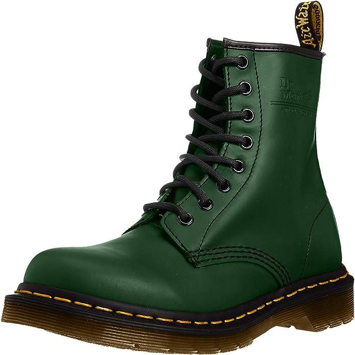 botas militares verdes Dr. Martens
