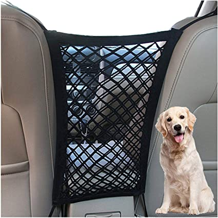 DYKESON Dog Car Net Barrier - Excellent Storage Space