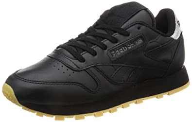 1e4420e79cc3bb Reebok Women s Classic Leather Met Diamond Low-Top Sneakers