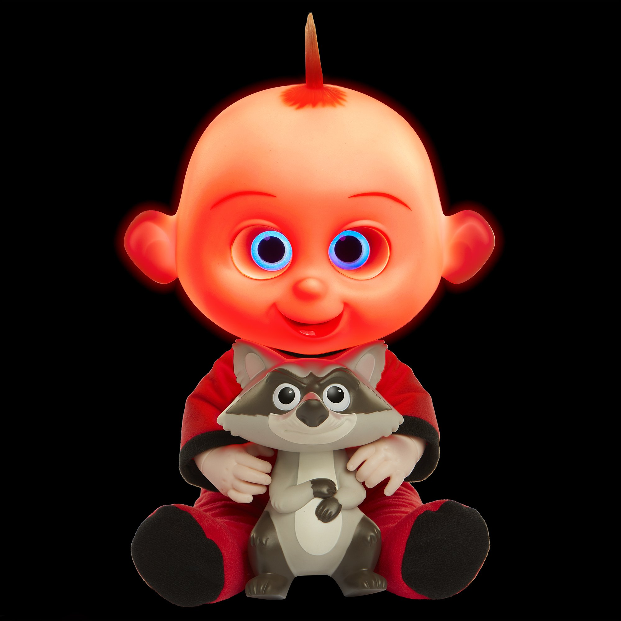 The Incredibles 2 Jack-Jack Plush-Figure Features Lights & Sounds and comes with Raccoon Toy by The Incredibles 2 (Image #5)