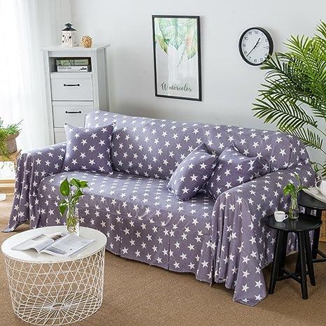 D&LE Enrejado Funda de sofá,Simple Moderno Protector para ...