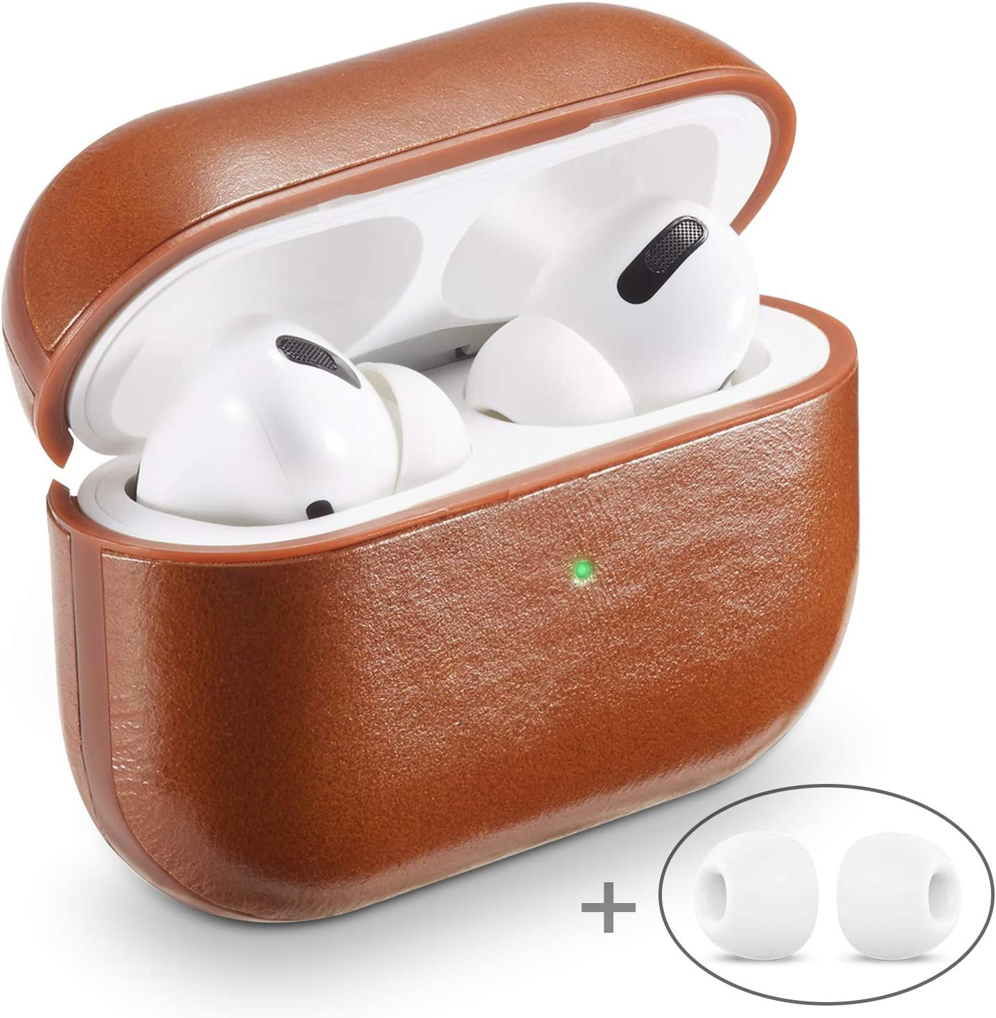 Amazon Com Airpods Pro Case Cover Mapuce Airpod Pro Case Leather