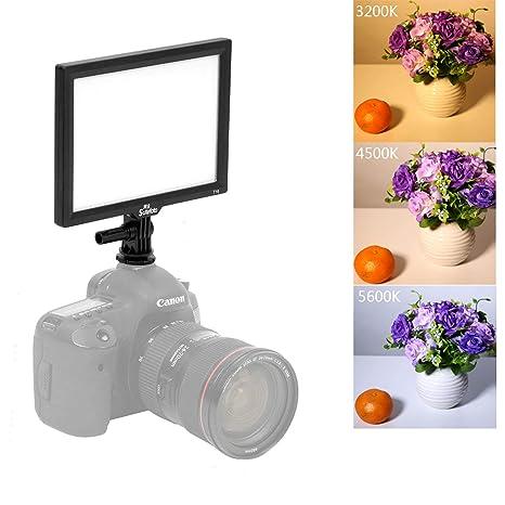 SUTEFOTO T16 Pro Bicolor Regulable Luz de Video con cámara Cámara ...