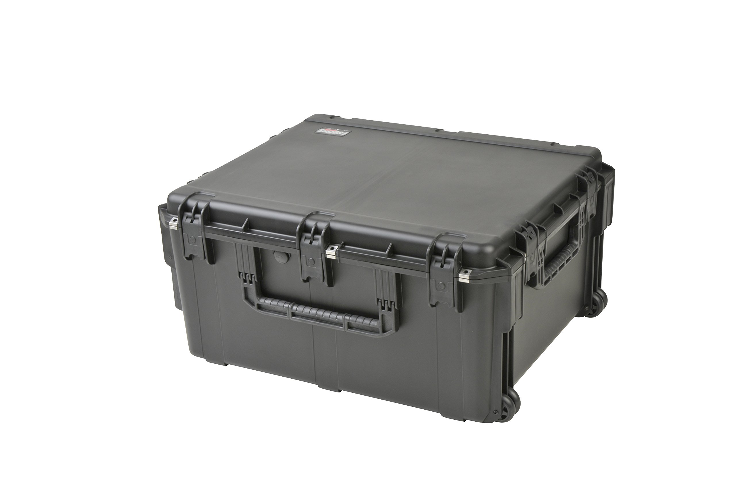 SKB 3I-3026-15BC 30 x 26 x 15 Inches Audio Utility Case with Wheels and Cubed Foam
