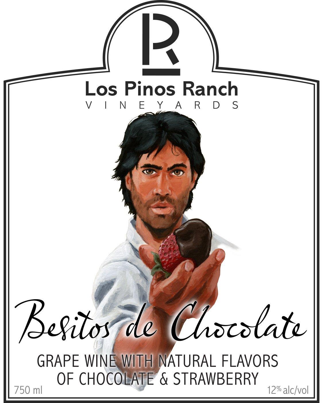 NV Los Pinos Ranch Vineyards Besitos de Chocolate 750 mL at ...